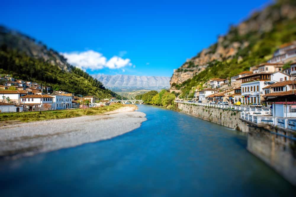 Albania - Berat - Historic city of Berat in Albania, World Heritage Site by UNESCO