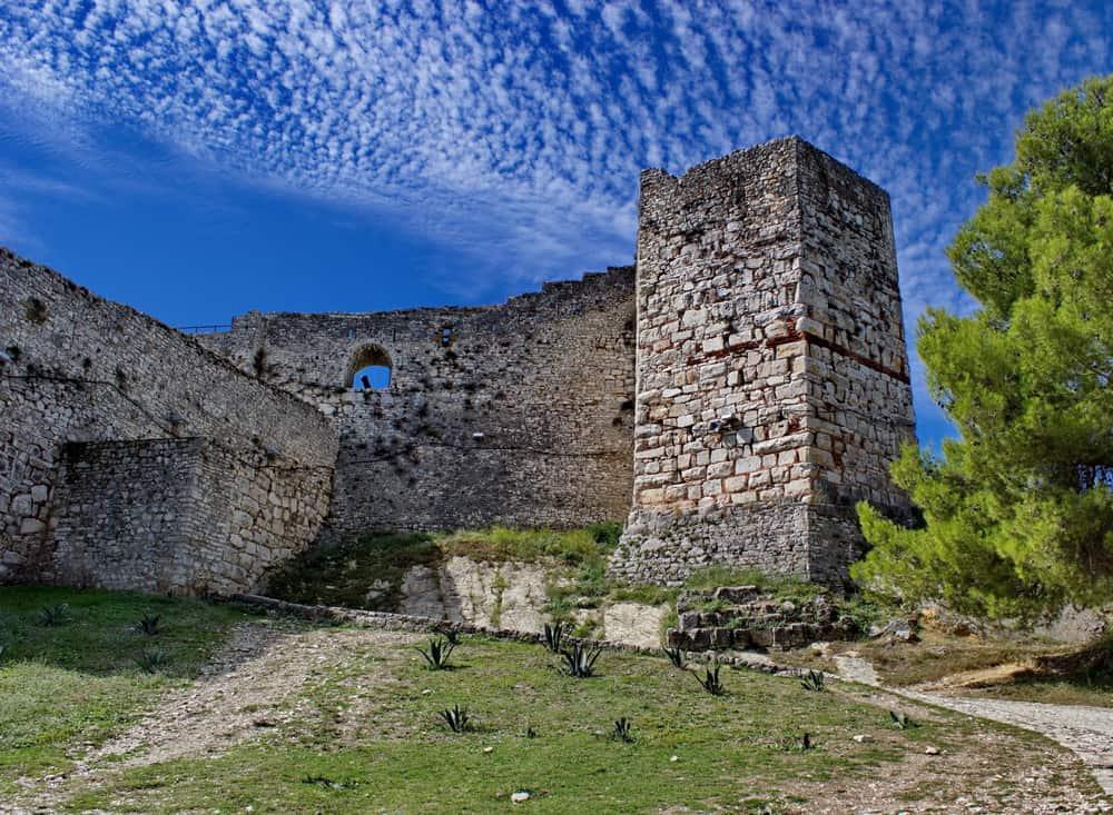 Albania - Berat - fortress in Berat in summertime, Albania
