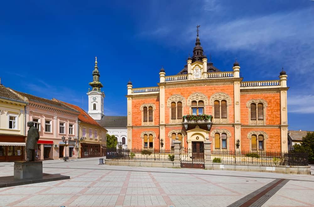 Serbia - Novi Sad - Zmaj Jovina street