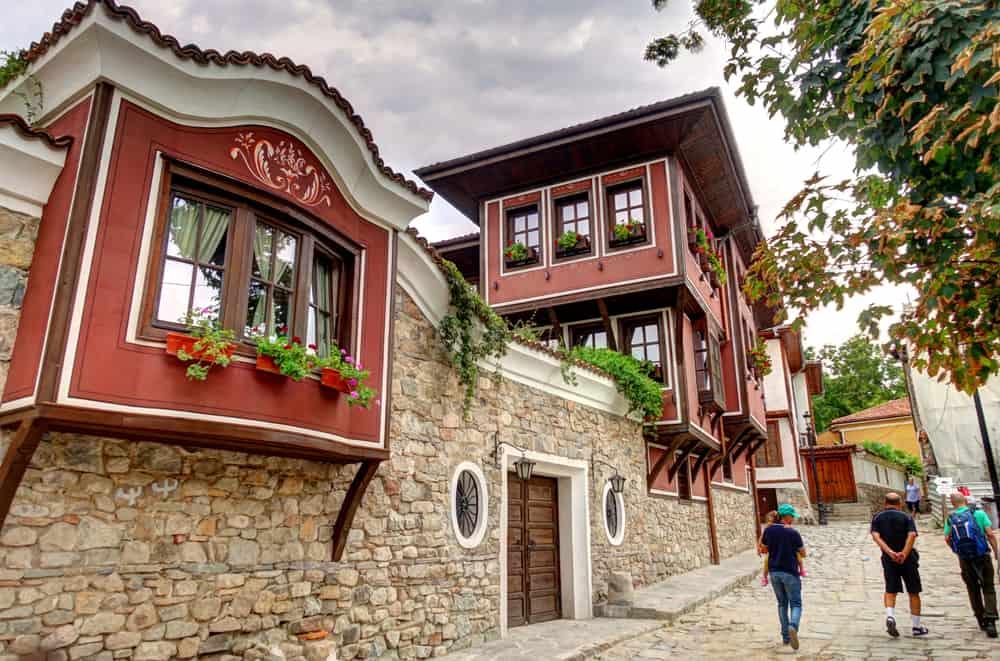 Bulgaria - Plovdiv - Plovdiv cityscape, Bulgaria