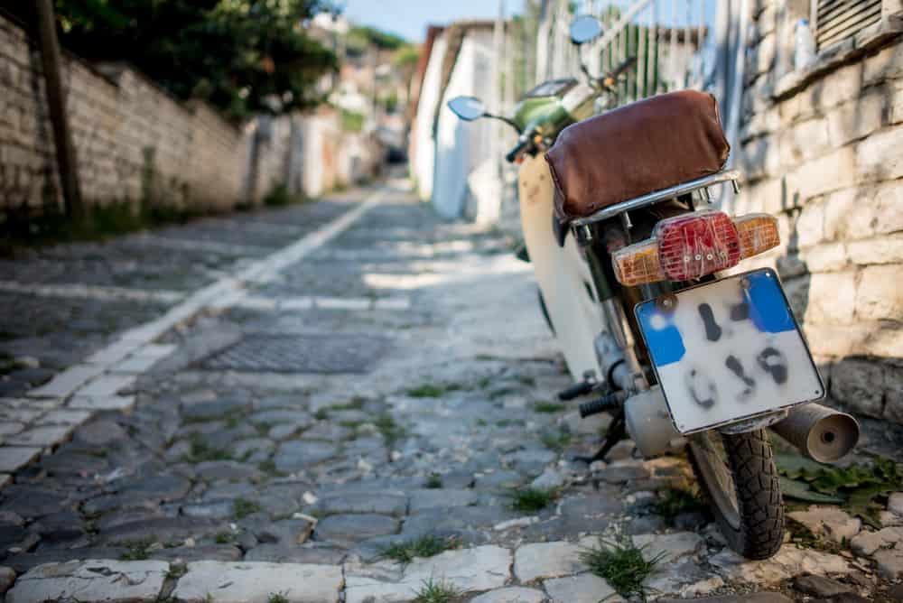 Albania - Berat - Scooter
