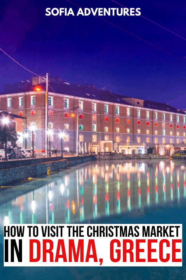 Drama Christmas Market