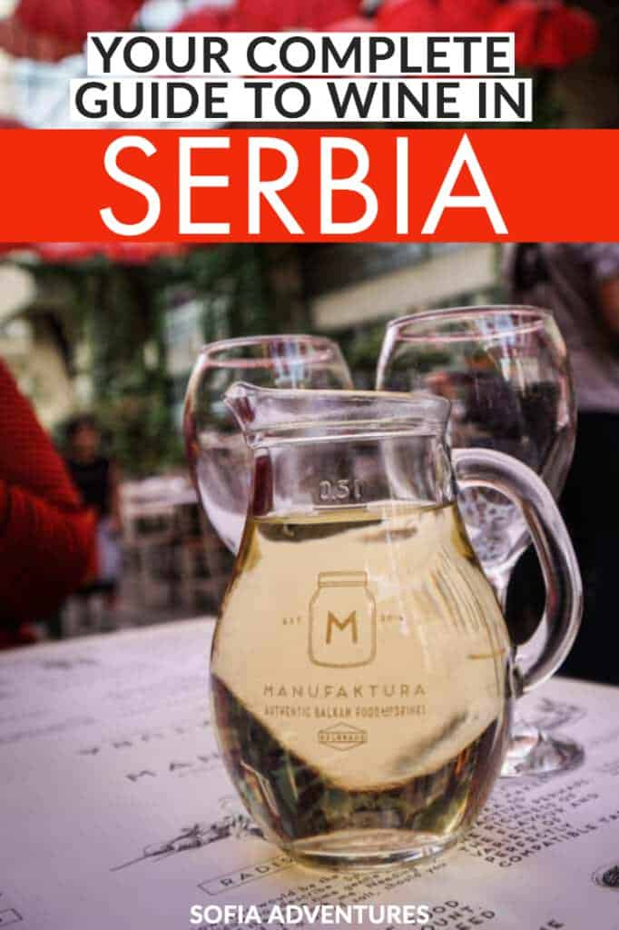 Planning to travel Serbia? This guide to Serbian wine is a wonderful way to taste your way through the country. After all, Serbian food is even tastier with a Serbian wine, and this guide will tell you Serbian wine history, wine varietals, best wineries in Serbia, wine bars in Beglrade, and more.