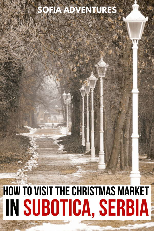 Subotica Christmas Market