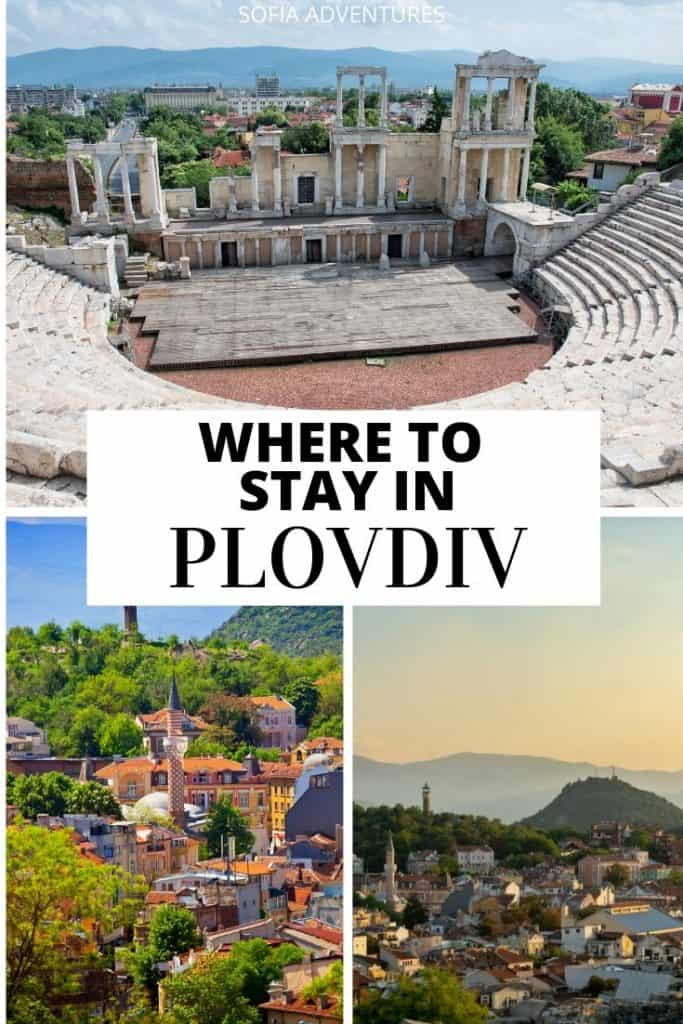 Planning to travel Plovdiv, Bulgaria? We've been to Plovdiv from Sofia several times, and we love this city! Here is our guide to where to stay in Plovdiv (Old Town, Center, Kapana, or outside of the center) as well as tips for the best place to stay in Plovdiv to be closest to all the best things to do in Plovdiv for your Plovdiv itinerary!