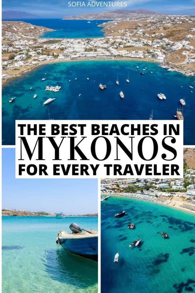 Wondering where the best Mykonos beaches are? Here's your ultimate Mykonos beach guide to help you plan the perfect Mykonos beach hopping itinerary! Here are all the best beaches in Mykonos for couples, families, LGBT people, solo travelers, party seekers, nightlife lovers, and more!