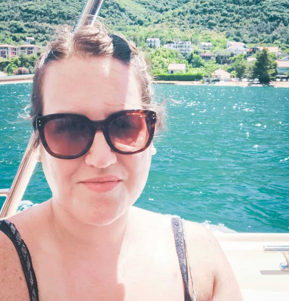 Montenegro - Kotor - Stephanie on a Boat
