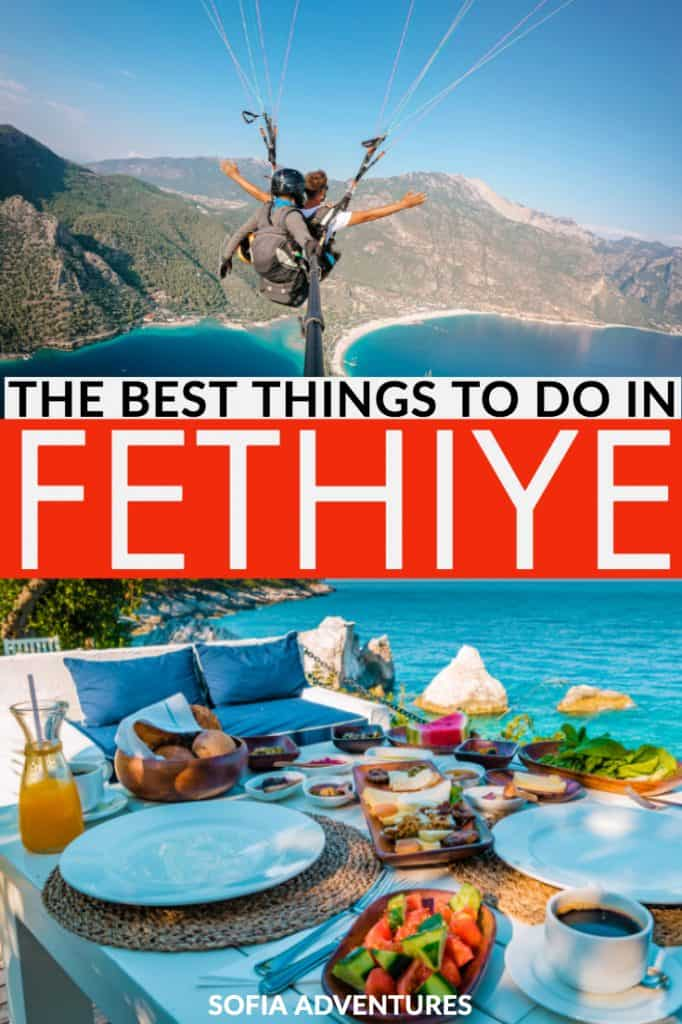 Planning to visit Fethiye, Turkey? This Fethiye travel guide includes the best things to do in Fethiye, Fethiye beaches, restaurants in Fethiye, and the best day trips from Fethiye so you can plan the perfect trip to the Turkish Riviera!