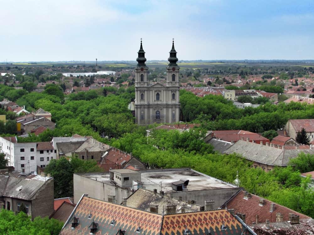 Serbia - Subotica - Cathedral in Subotica