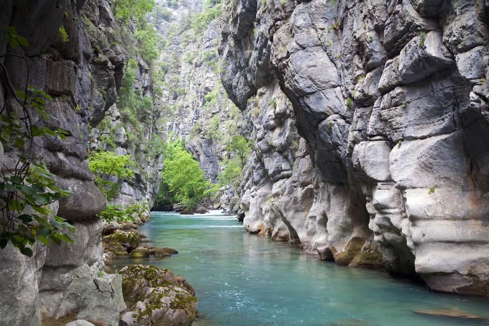 Turkey - Antalya - Manavgat River Yedipinarlar spring Antalya Turkey
