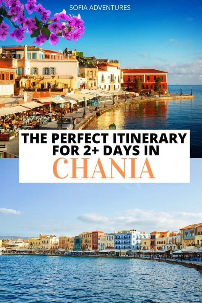 Planning to visit Chania? This Crete itinerary helps you plan 2 days in Chania in a step by step fashion. This Chania itinerary includes the best things to do in Chania, the best place to visit in Chania region, some Chania restaurant suggestions, as well as day trips from Chania if you extend your trip!