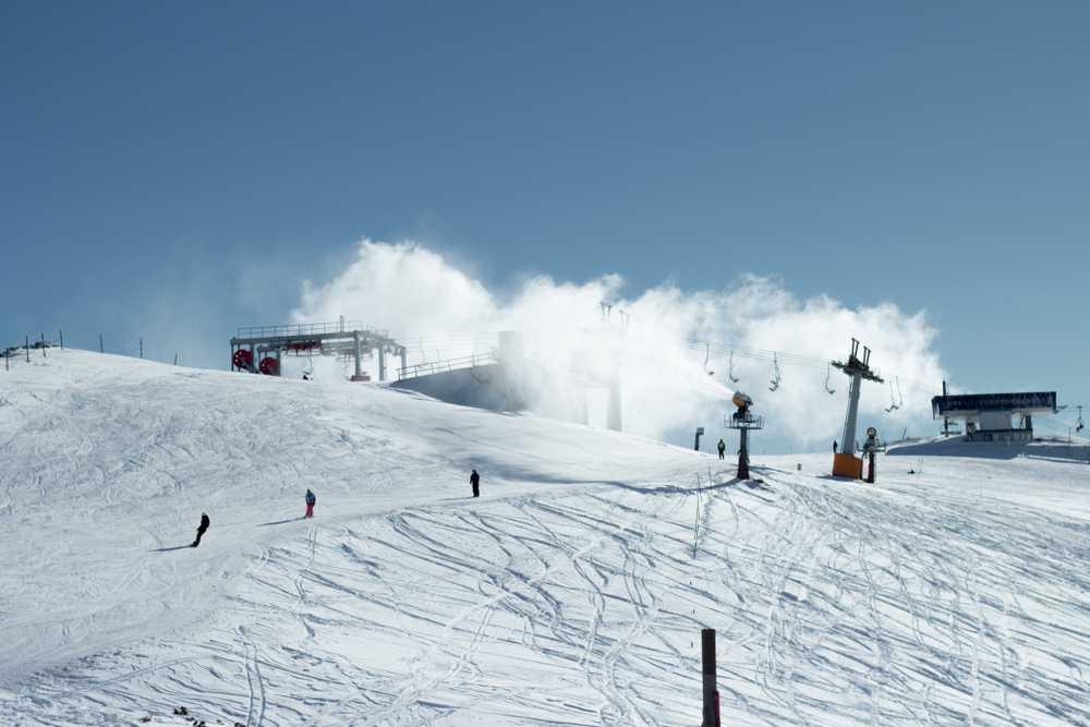 slovenia - Top of the legendary ski track Njivice