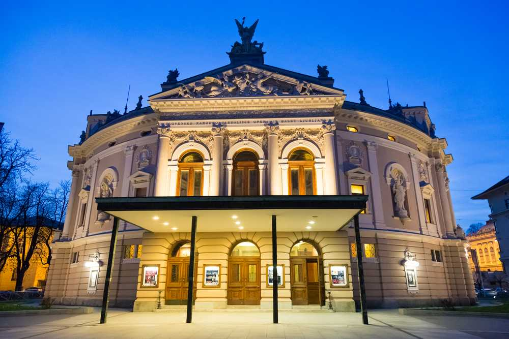 Slovenia - Slovenian National Opera and Ballet Theatre is an opera house in Ljubljana, the capital of Slovenia. It serves as the national opera building of the country.