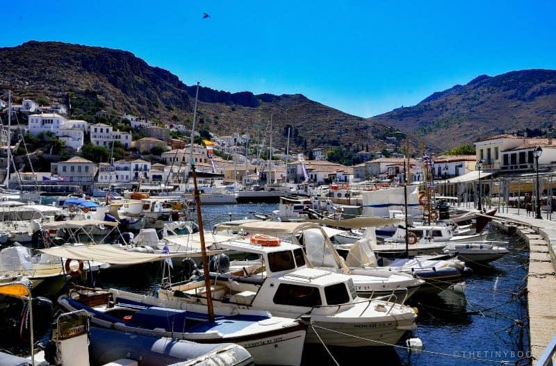 Greece - Hydra - Port of Hydra