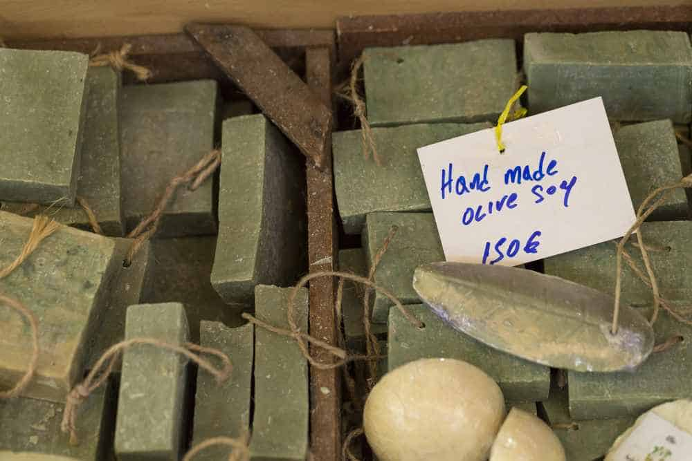 Greece - Mykonos - Traditional pure olive oil soap from greece