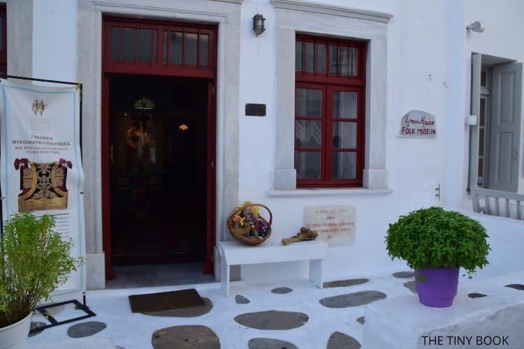 mykonos - lenas house