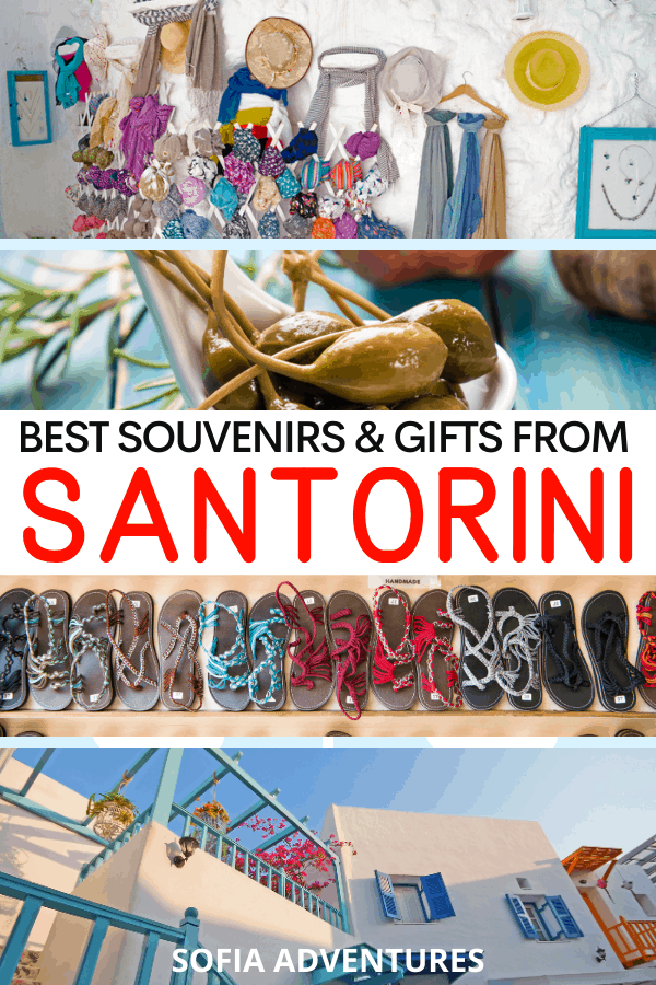 Santorini Souvenirs and Santorini Gifts - What to Buy in Santorini Shopping Tips