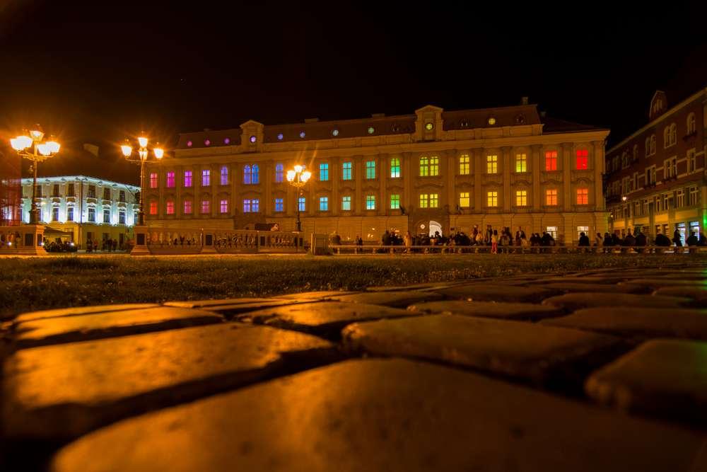 Romania - Timisoara - The art museum from Timisoara