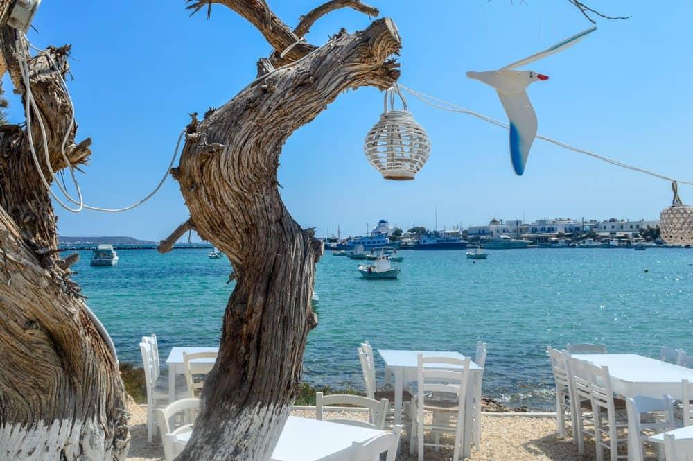Greece - Antiparos - Restaurant Antiparos Greece