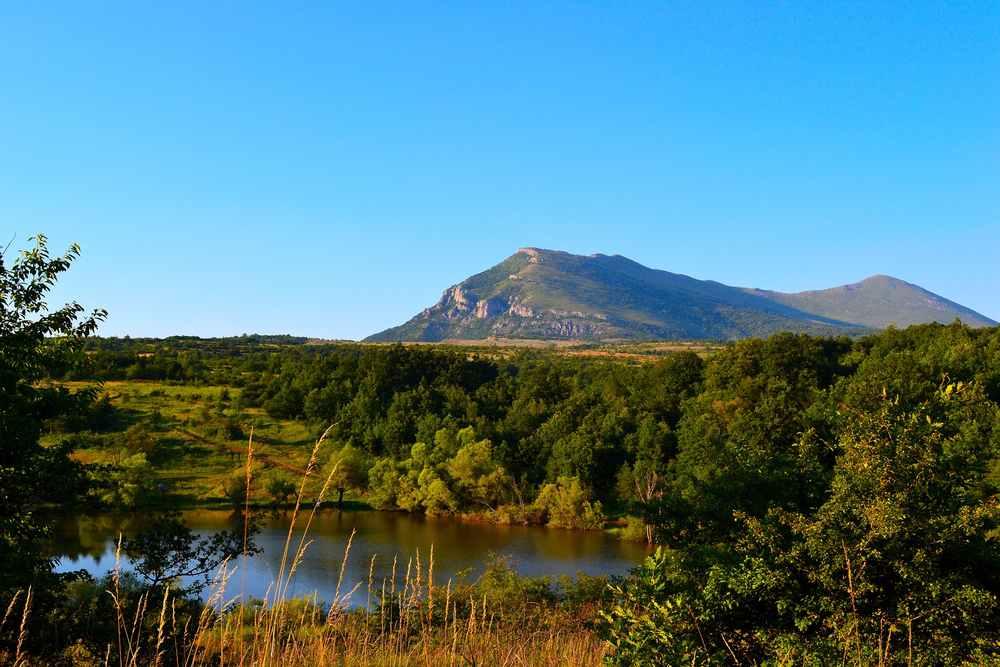 Serbia - Vrmdza lake on the mountain Rtanj in eastern Serbia