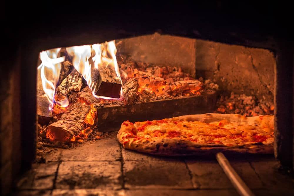 Serbia - Novi Sad - Pizza in the stone oven, Belgrade, Serbia