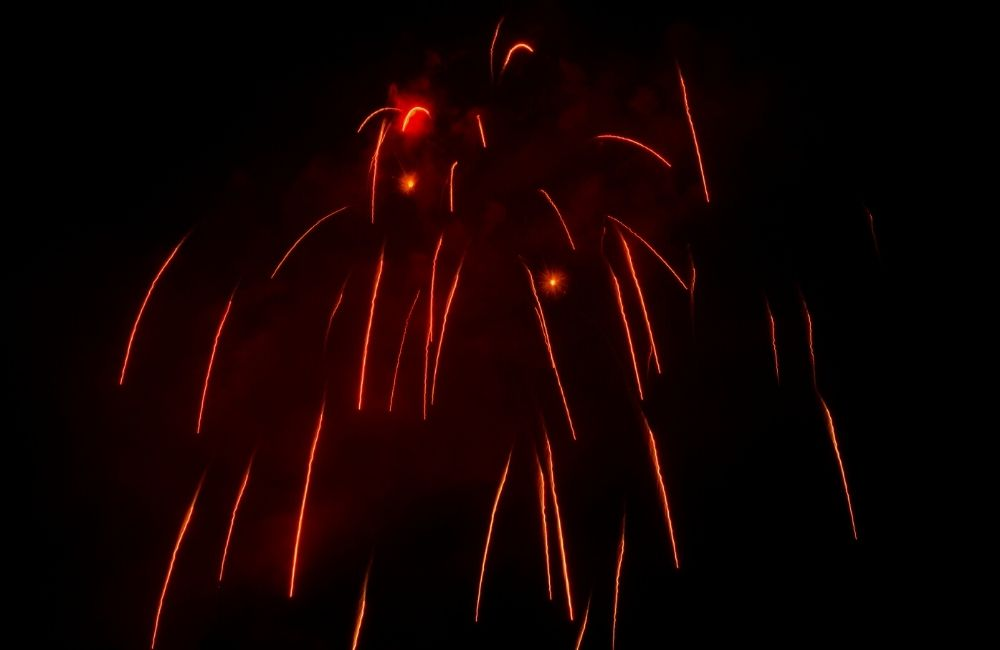 Patras Carnival Fireworks