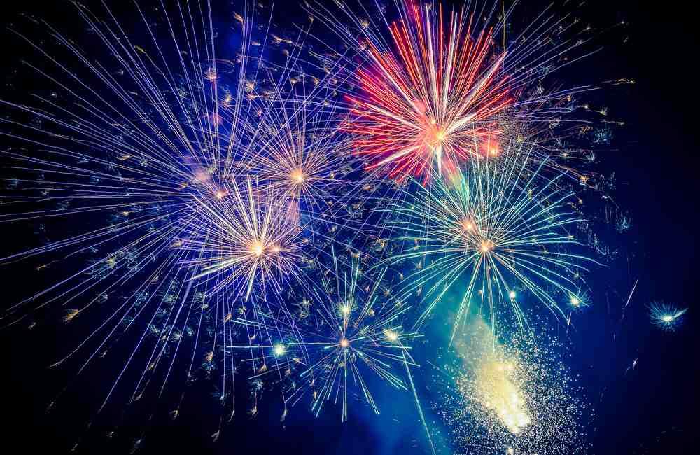 Greece - Patras - Fireworks